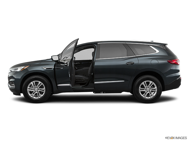2020 Buick Enclave Driver's side profile with drivers side door open