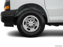 2020 Chevrolet Express Cargo Front Drivers side wheel at profile