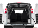 2020 Chevrolet Express Cargo Trunk open