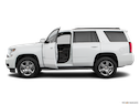 2020 Chevrolet Tahoe Driver's side profile with drivers side door open