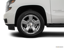 2020 Chevrolet Tahoe Front Drivers side wheel at profile