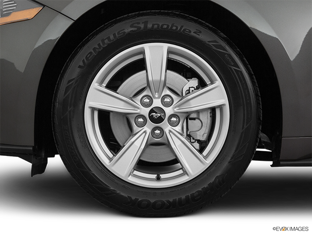 2020 Ford Mustang Front Drivers side wheel at profile