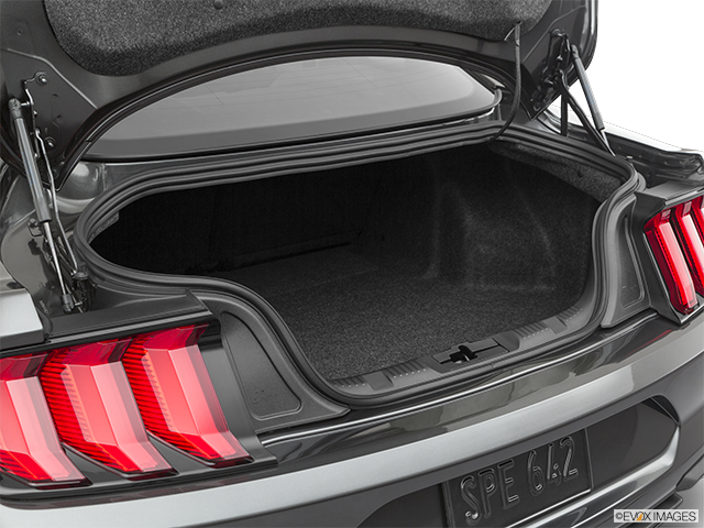 2020 Ford Mustang Trunk open
