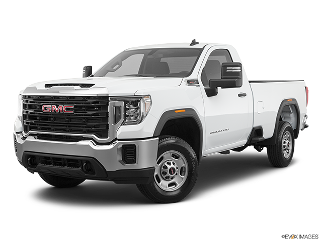 2020 GMC Sierra 2500HD Front angle medium view