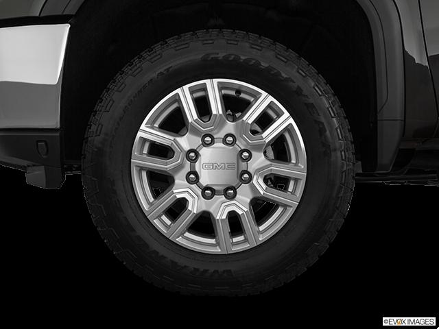 2020 GMC Sierra 2500HD Front Drivers side wheel at profile