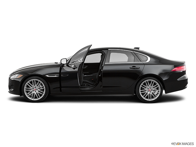 2020 Jaguar XF Driver's side profile with drivers side door open