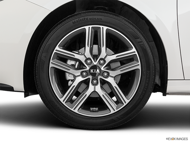 2020 Kia Forte Front Drivers side wheel at profile