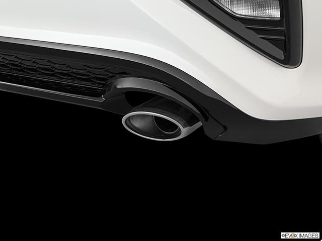 2020 Kia Forte Chrome tip exhaust pipe