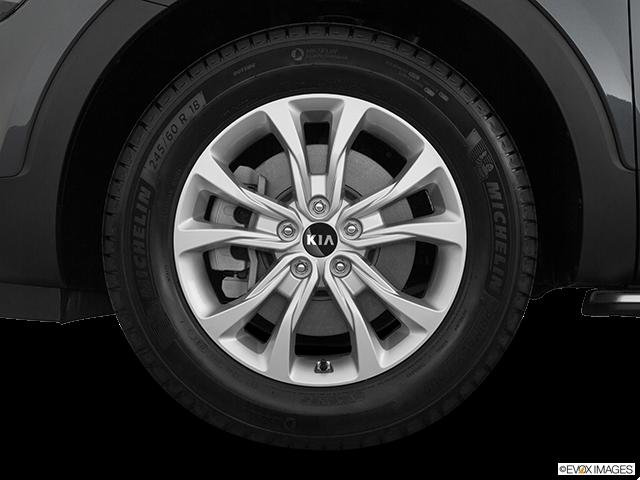 2020 Kia Telluride Front Drivers side wheel at profile