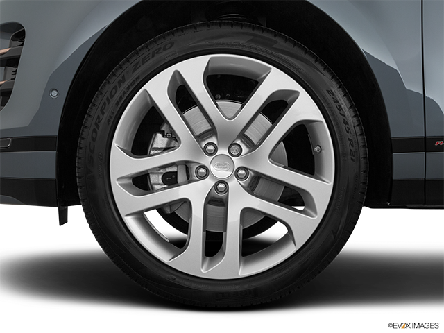 2020 Land Rover Range Rover Evoque Front Drivers side wheel at profile