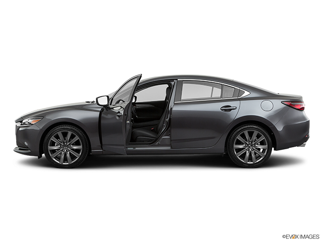 2020 Mazda Mazda6 Driver's side profile with drivers side door open