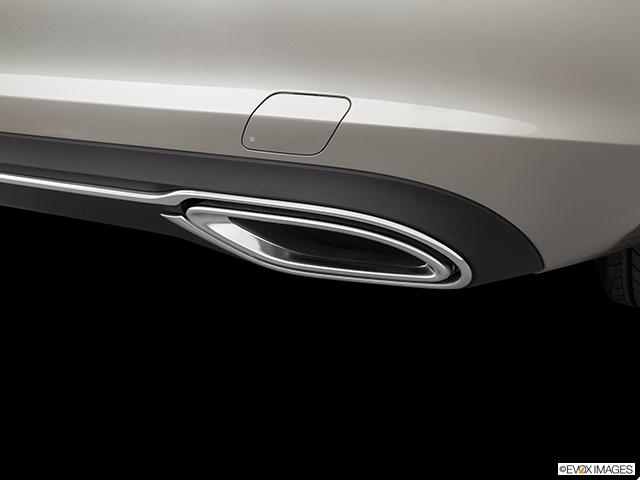 2020 Mercedes-Benz C-Class Chrome tip exhaust pipe