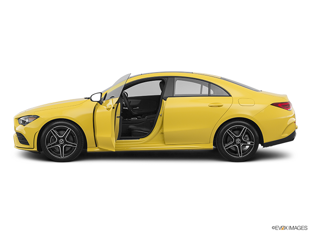 2020 Mercedes-Benz CLA Driver's side profile with drivers side door open
