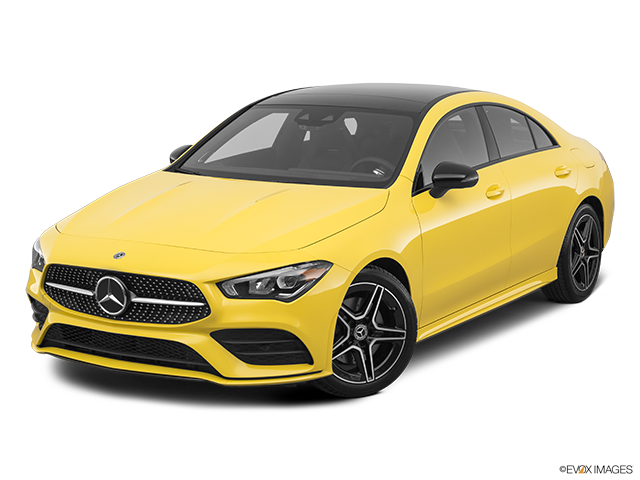 2020 Mercedes-Benz CLA Front angle view