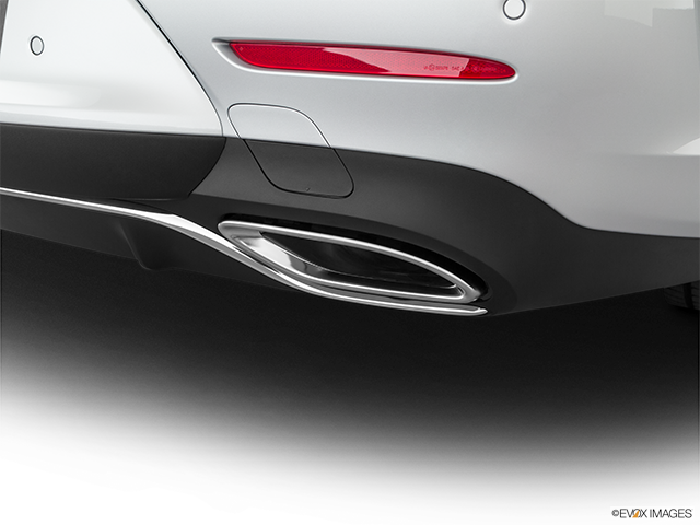 2020 Mercedes-Benz CLS Chrome tip exhaust pipe