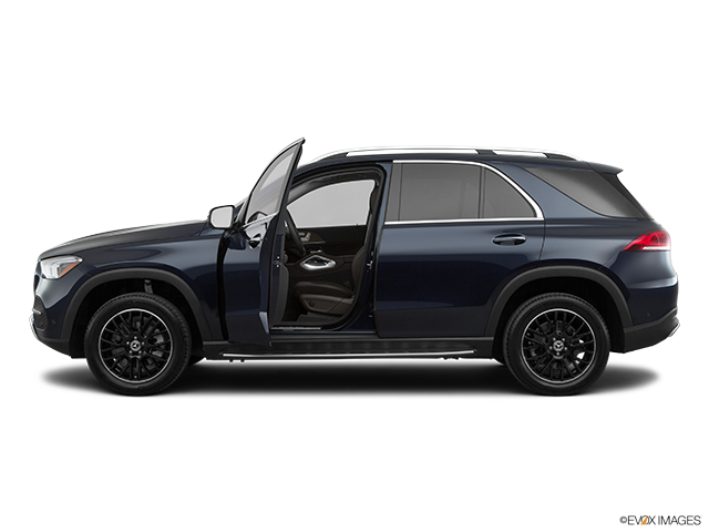2020 Mercedes-Benz GLE Driver's side profile with drivers side door open