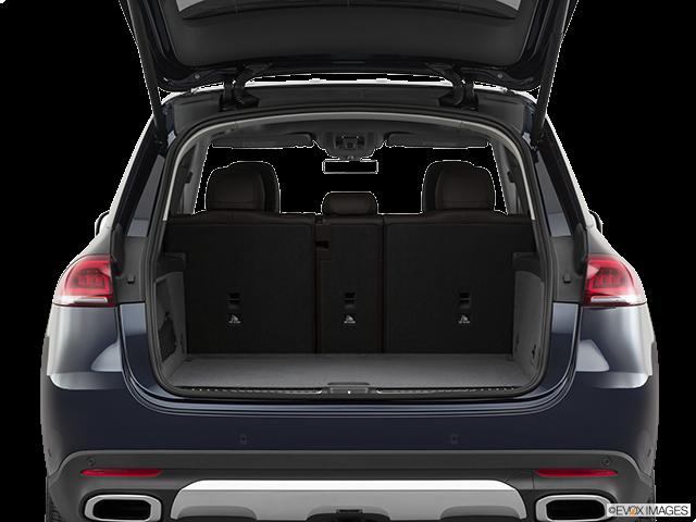 2020 Mercedes-Benz GLE Trunk open