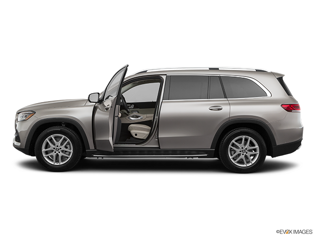 2020 Mercedes-Benz GLS Driver's side profile with drivers side door open