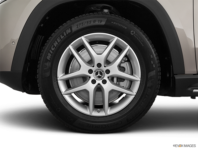 2020 Mercedes-Benz GLS Front Drivers side wheel at profile