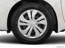 2020 Nissan Versa Front Drivers side wheel at profile