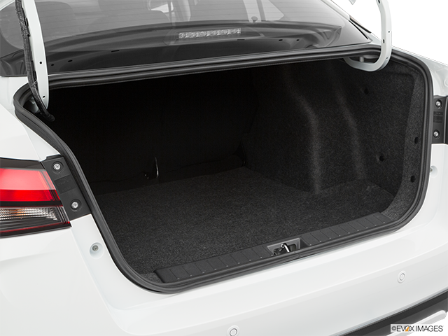 2020 Nissan Versa Trunk open