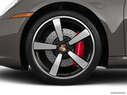2020 Porsche 911 Front Drivers side wheel at profile