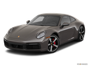 2020 Porsche 911 Front angle view