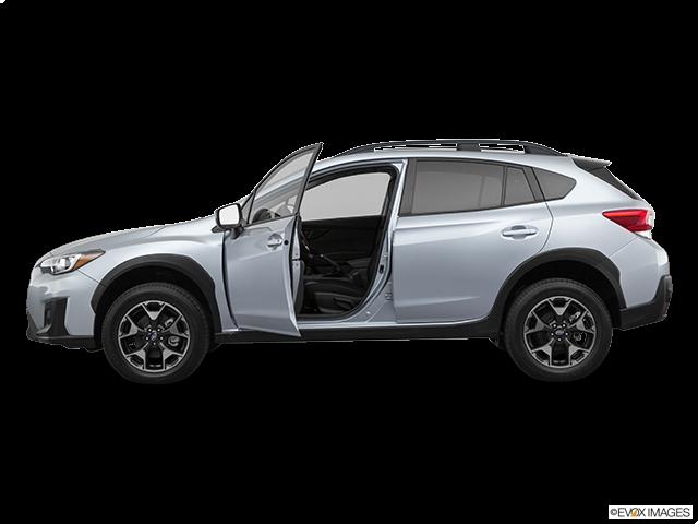 2020 Subaru Crosstrek Driver's side profile with drivers side door open
