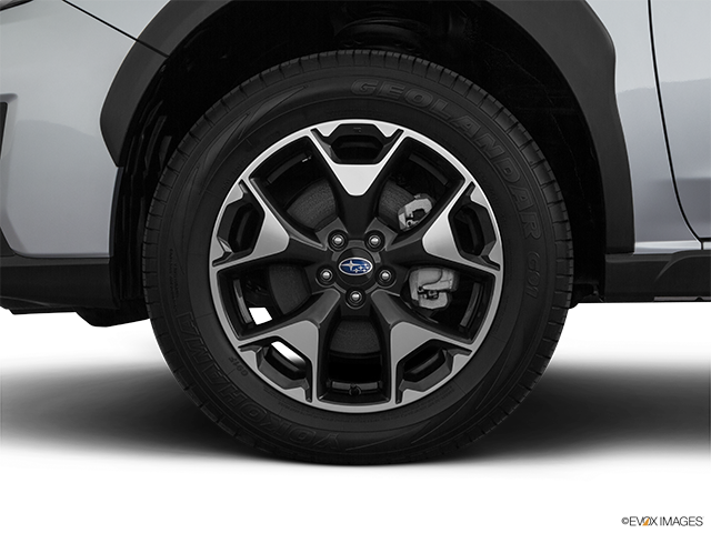 2020 Subaru Crosstrek Front Drivers side wheel at profile