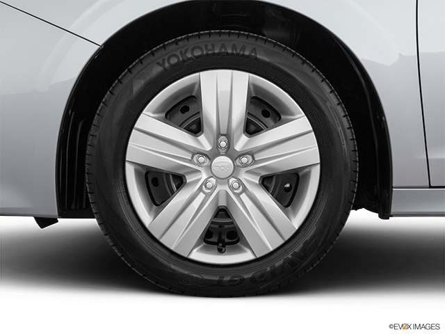 2020 Subaru Legacy Front Drivers side wheel at profile