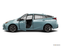 2020 Toyota Prius Driver's side profile with drivers side door open
