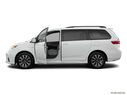 2020 Toyota Sienna Driver's side profile with drivers side door open