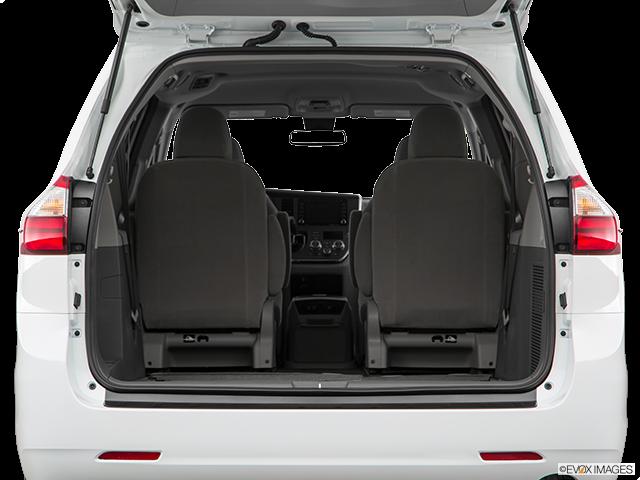 2020 Toyota Sienna Trunk open