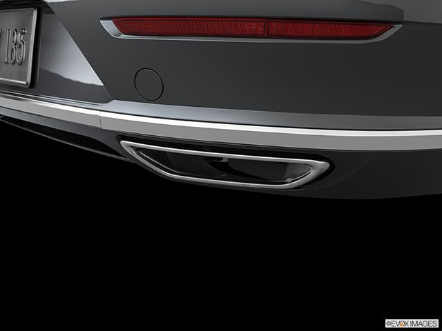 2020 Volkswagen Arteon Chrome tip exhaust pipe