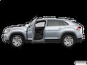 2020 Volkswagen Atlas Cross Sport Driver's side profile with drivers side door open