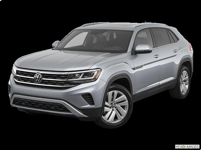 2020 Volkswagen Atlas Cross Sport Front angle view