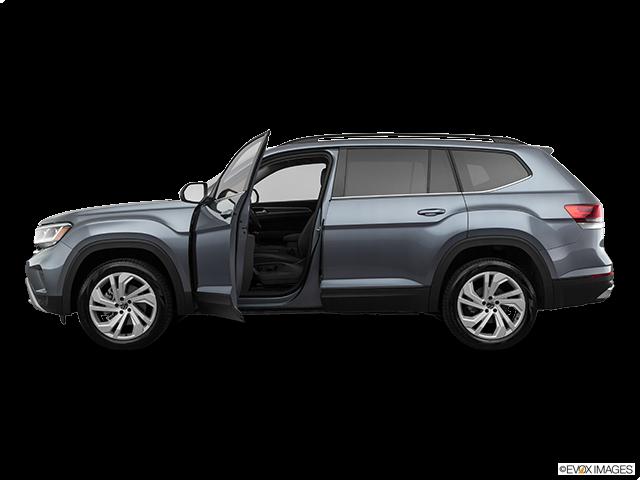 2021 Volkswagen Atlas Driver's side profile with drivers side door open