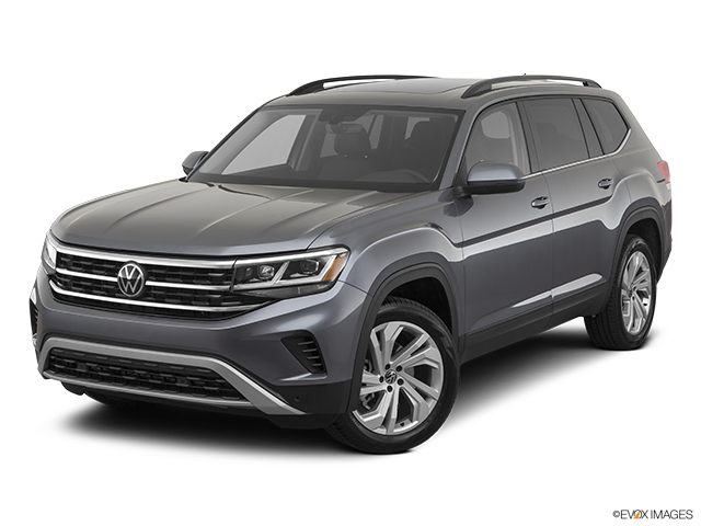 2021 Volkswagen Atlas Front angle view